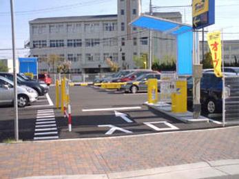 タイムズ兵庫吉田町(駐車場)の入り口写真