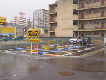 タイムズ兵庫浜中町(駐車場)の入り口写真