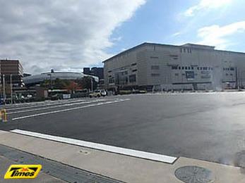 タイムズJR二条駅前バス駐車場